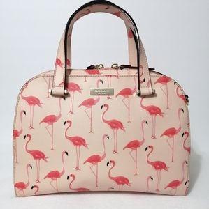 Kate Spade Felix Flamingo Newbury Lane Satchel